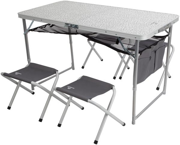 Складной стол и табуретки