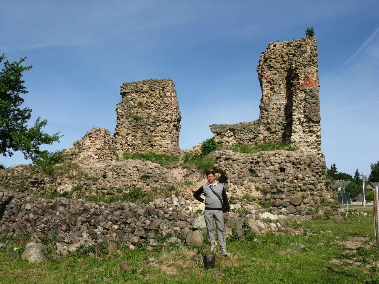 Развалины Кревского замка