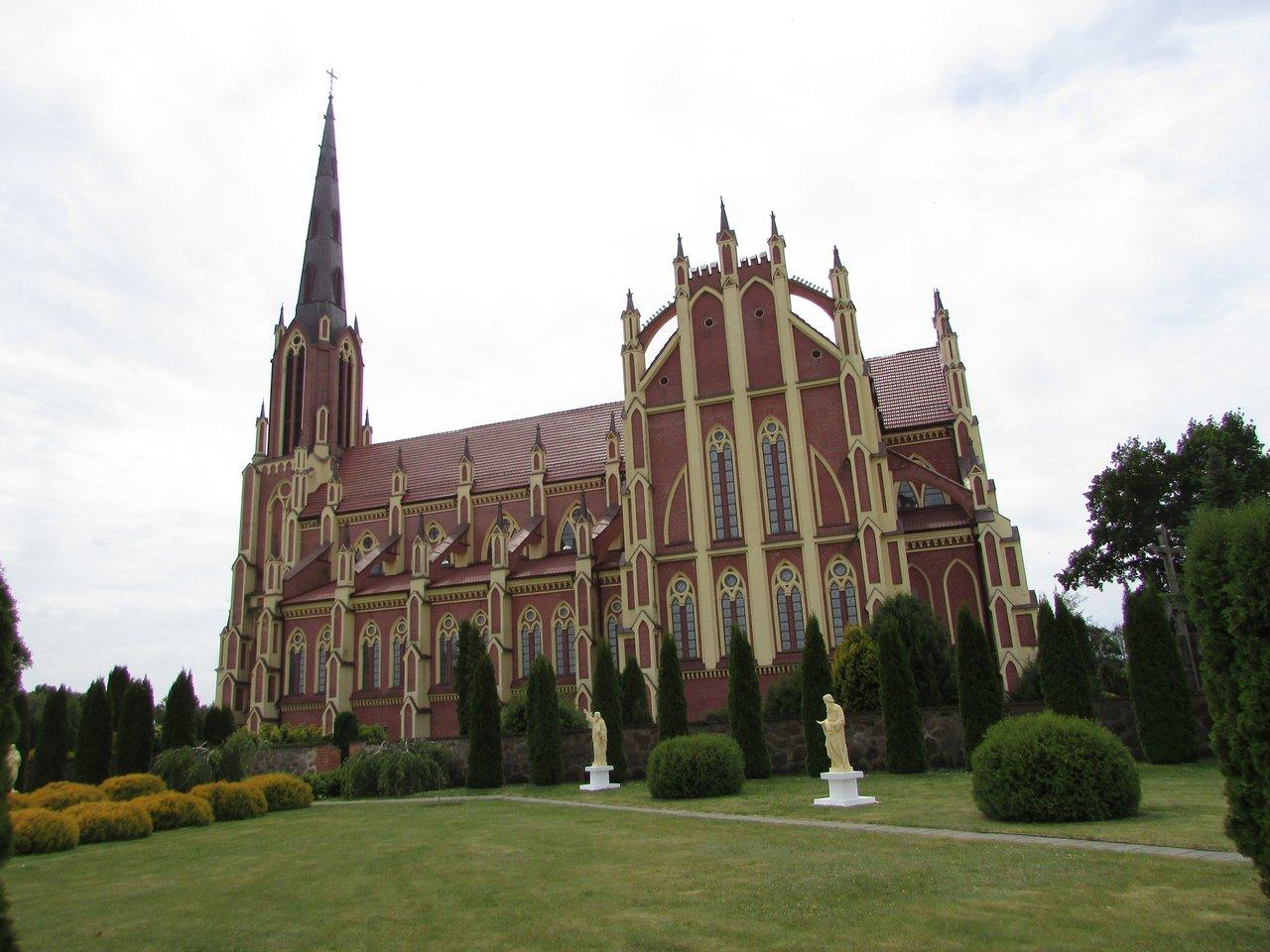 Костел в Гервятах