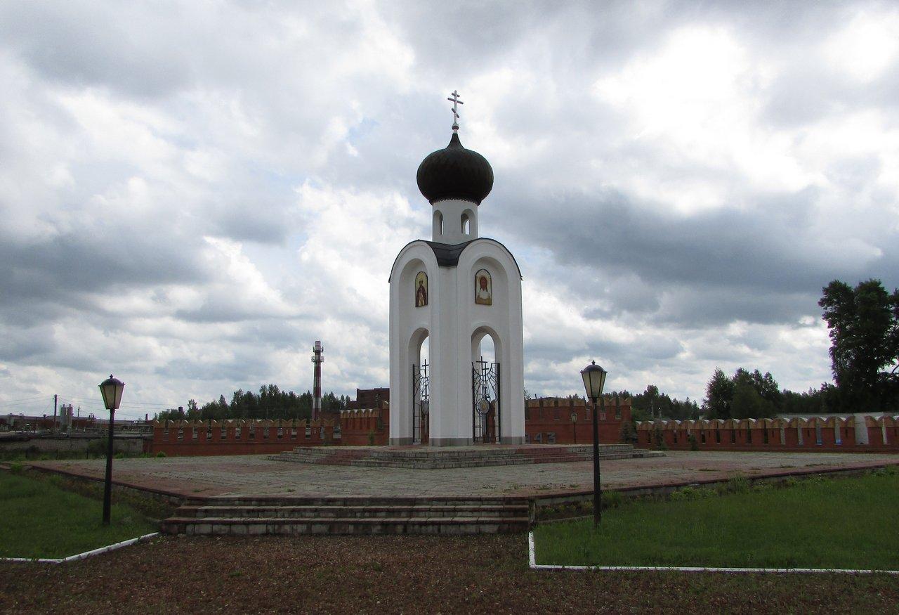 Часовня на воинском кладбище