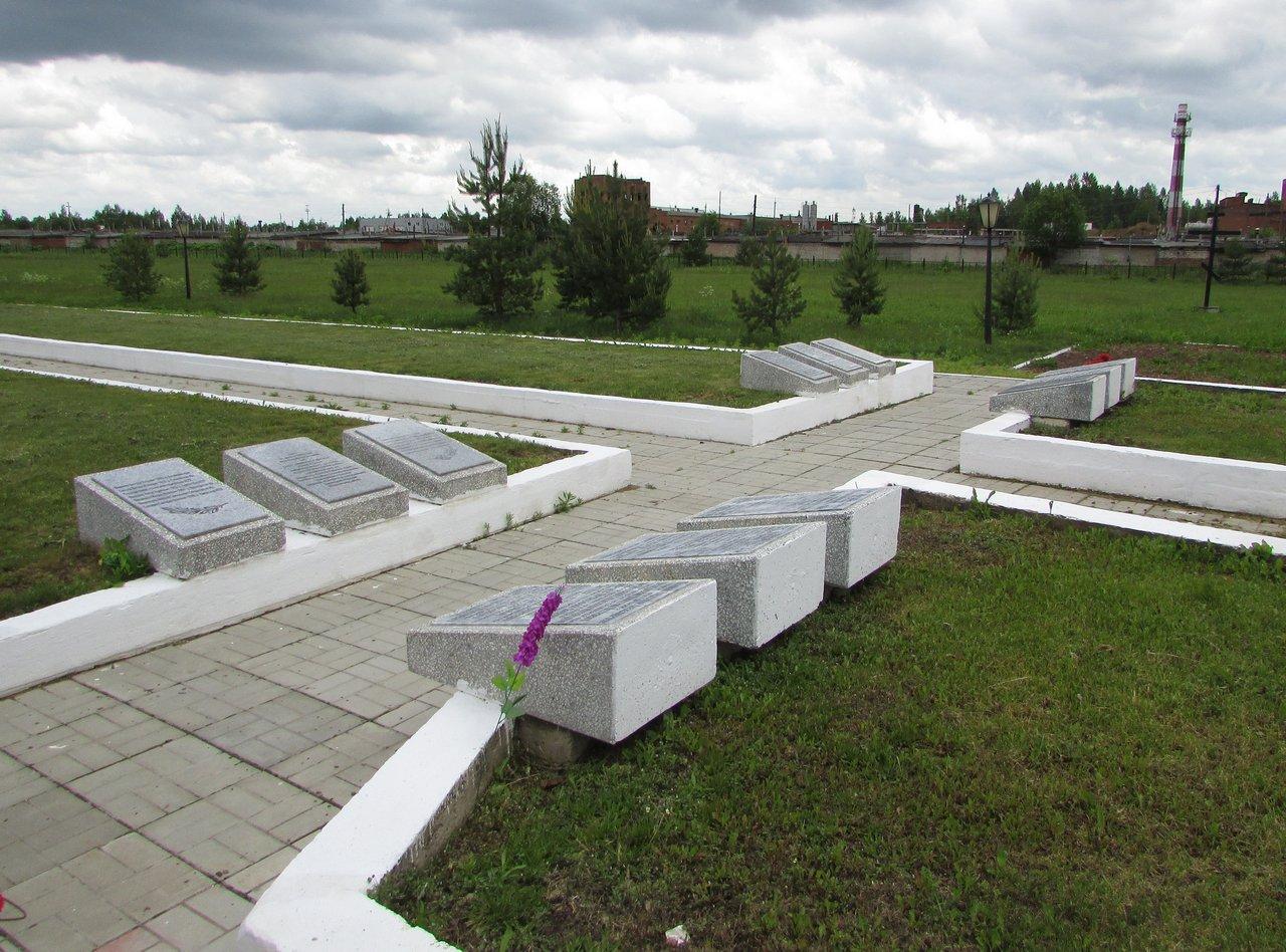Братские могилы советских воинов