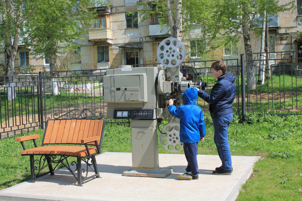 Настоящий киноаппарат