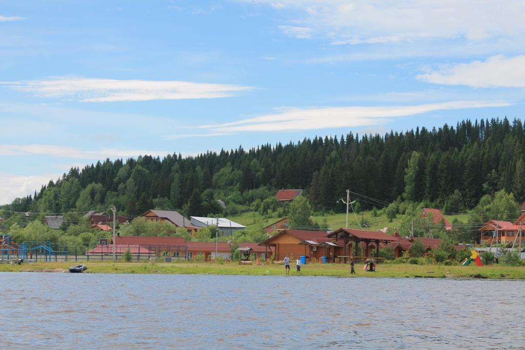 Вид базы с реки