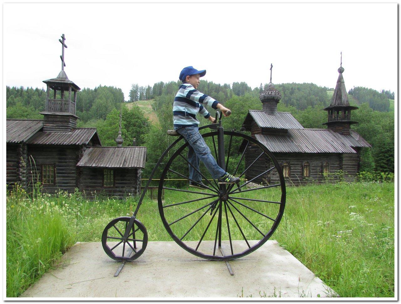 В музее реки Чусовой