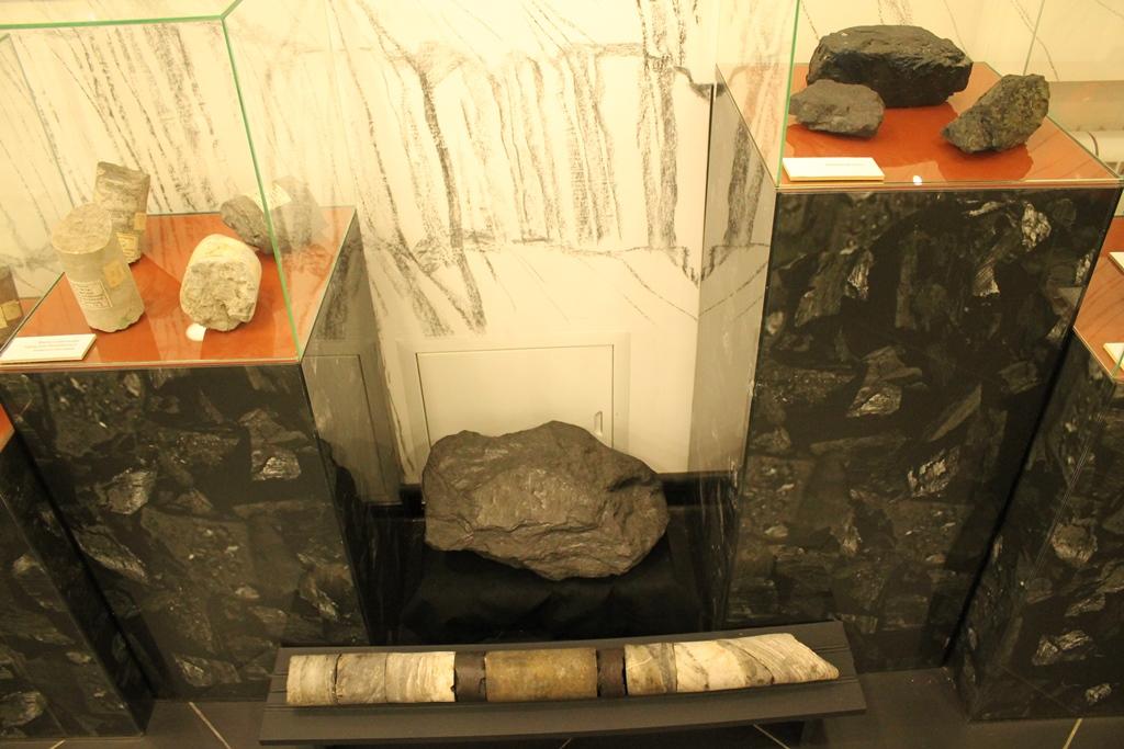 Образцы каменного угля