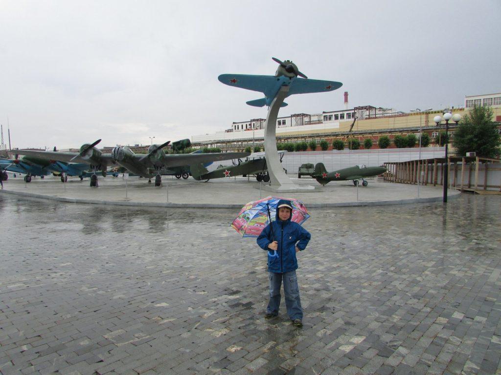 Выставка авиатехники