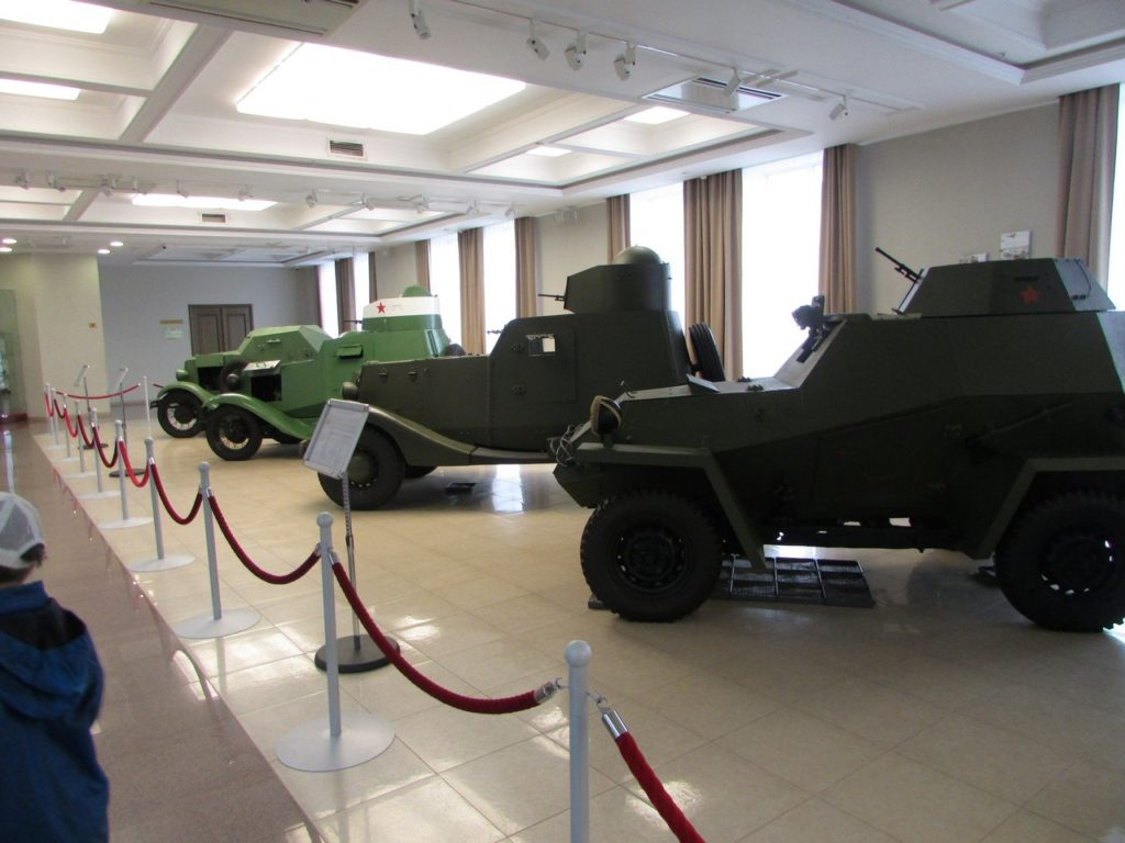 Линейка бронеавтомобилей