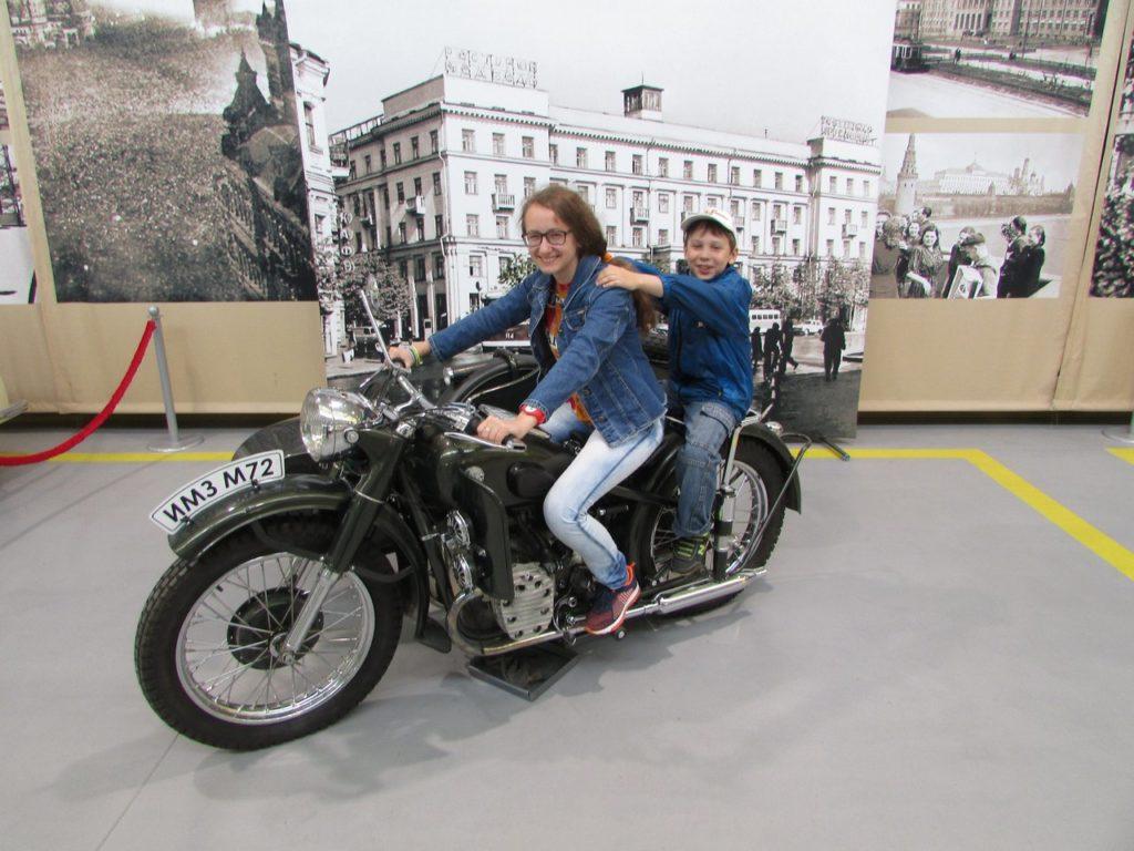Верхом на мотоцикле