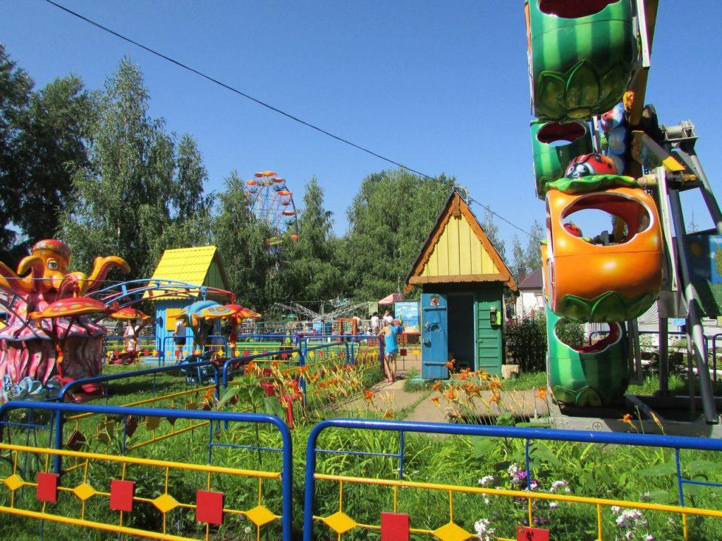 В чайковском парке развлечений
