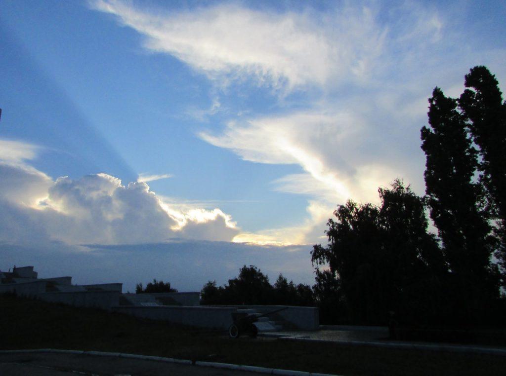 Небо над Волгой
