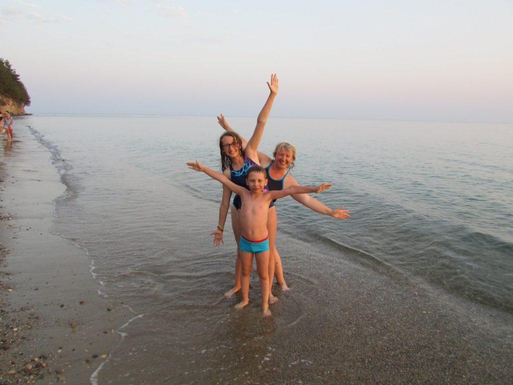 Море, солнце и вода!
