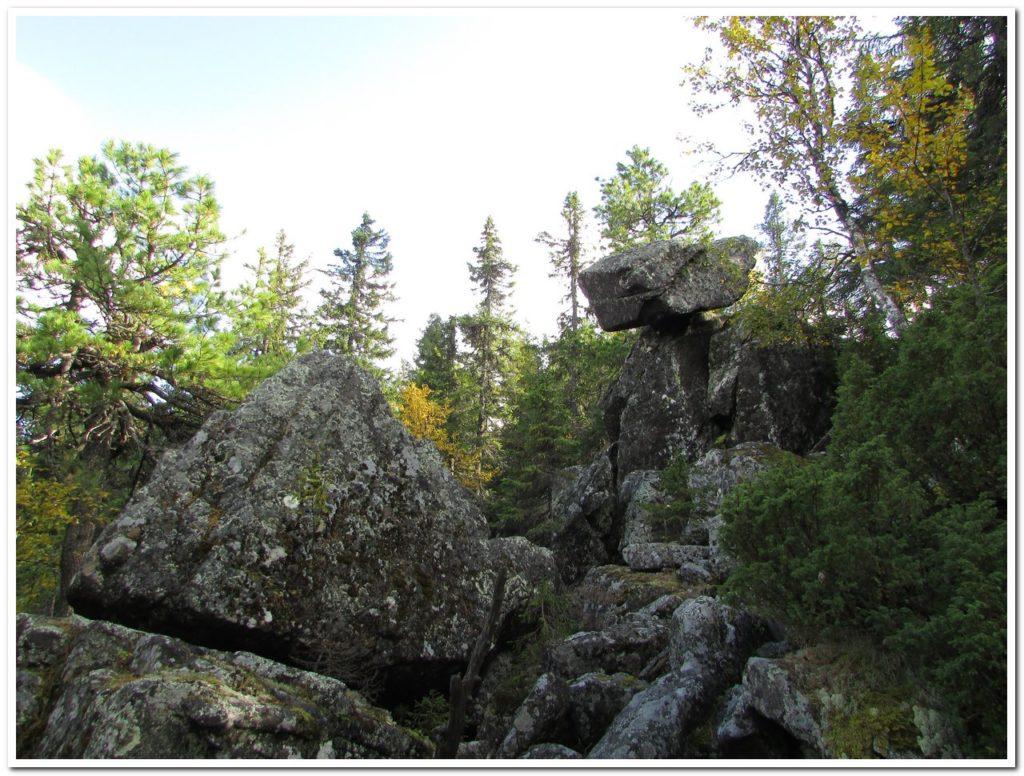 Скалы-останцы