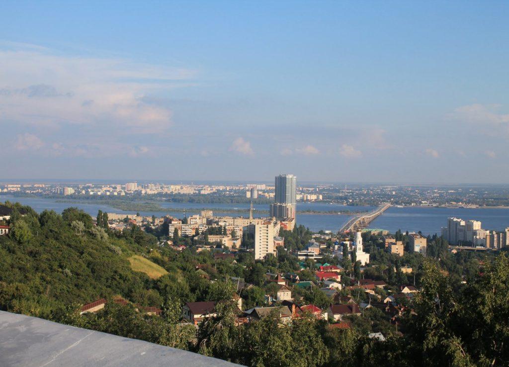 Центр города с Соколовой горы