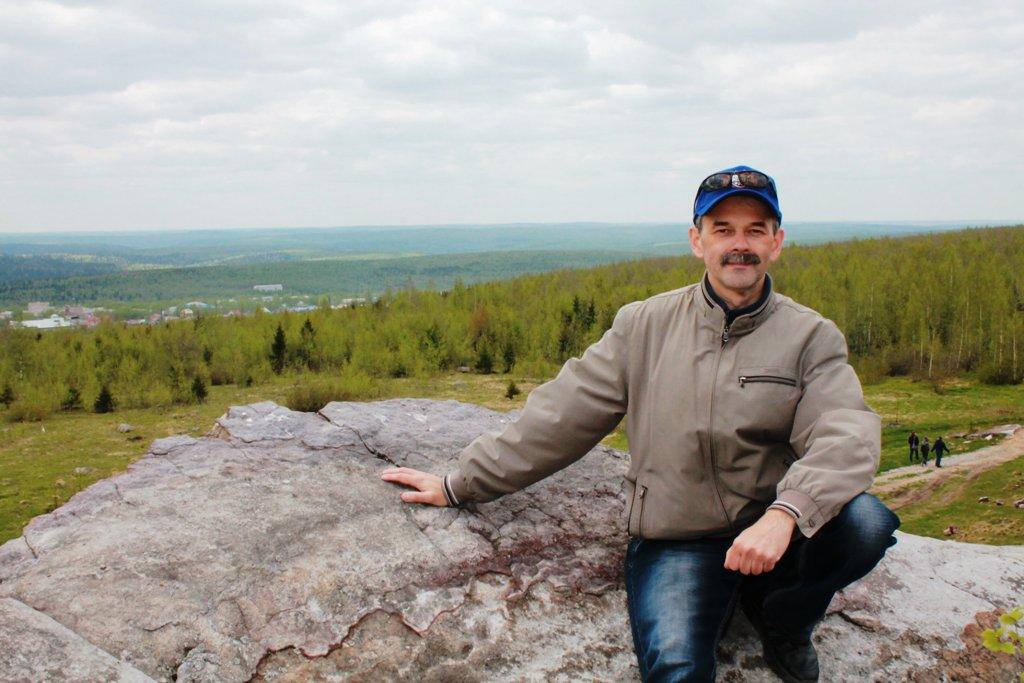 На горе Крестовой