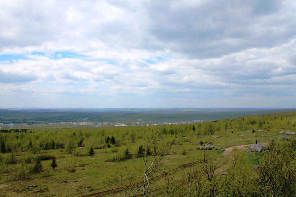 Вид с горы Крестовой