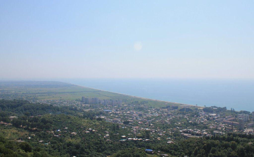 Вид на море и Гагру