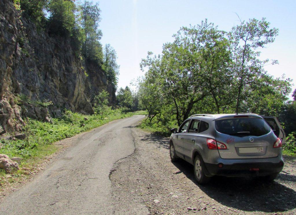 Дорога на Мамзышхе