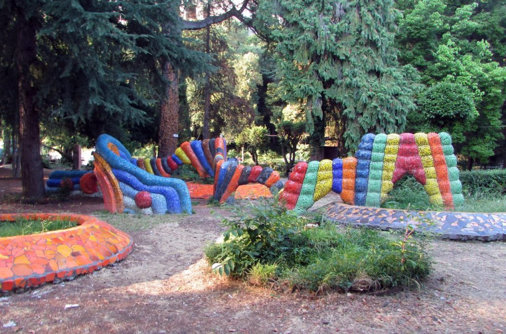 Детская площадка от Церетели