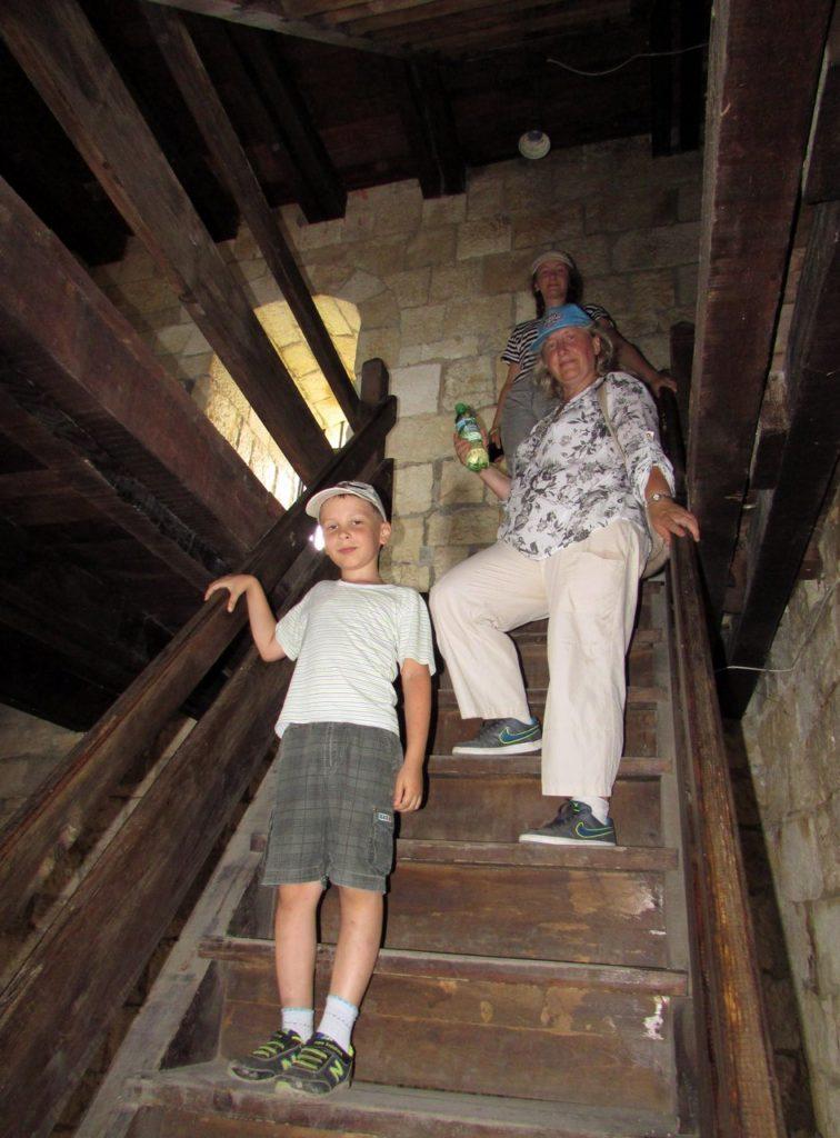 Лестница на башню