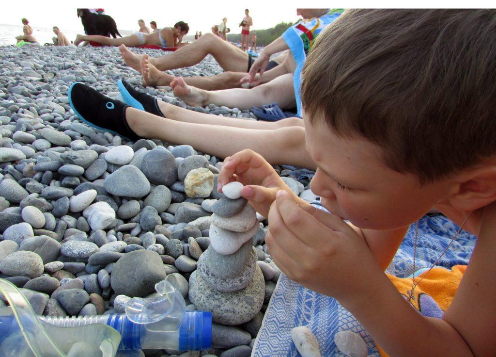 Пляжные занятия