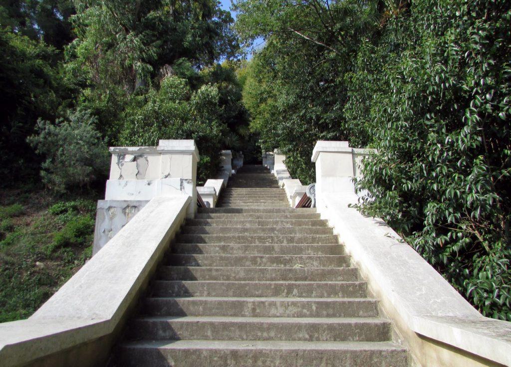 Лестница на холм Трапеция