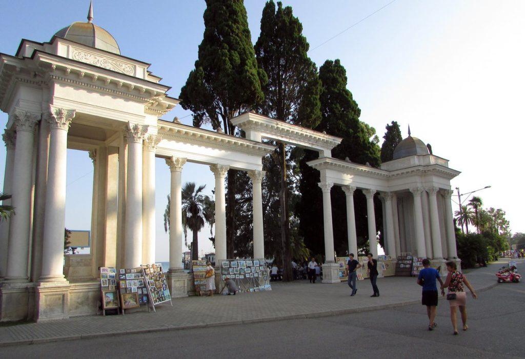 Сухумская колоннада