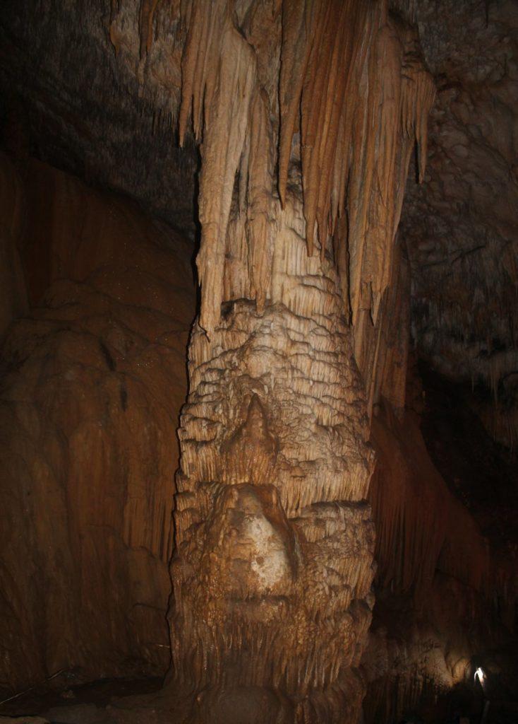 10-метровый сталагнат