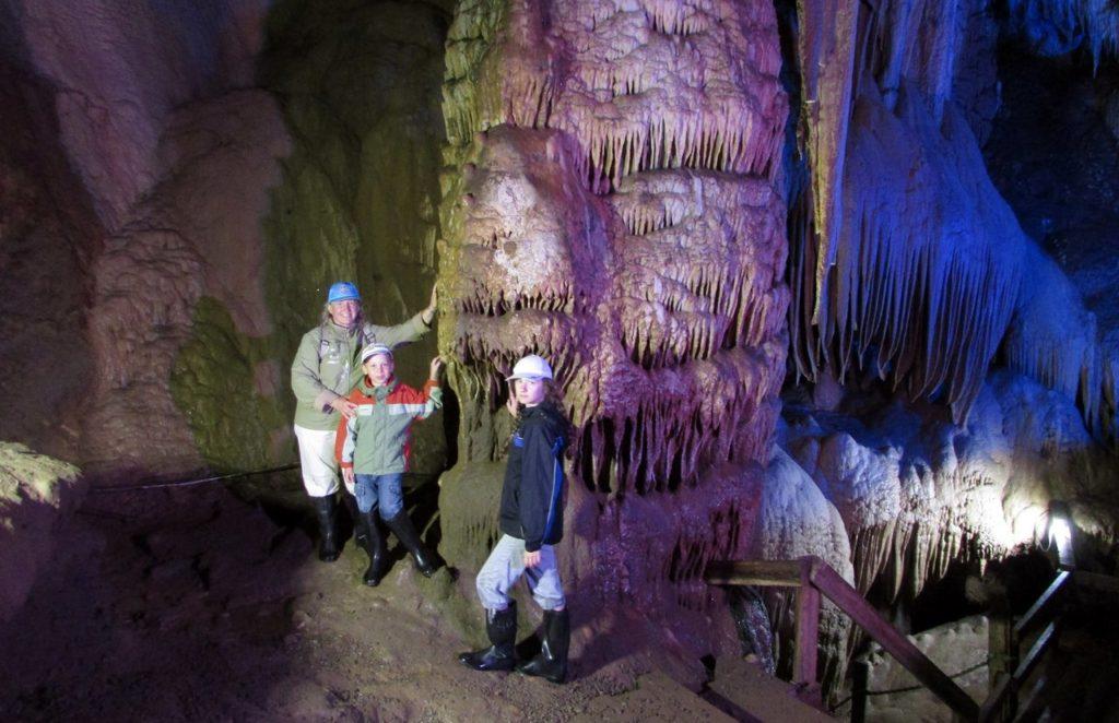 В пещере Абрскила