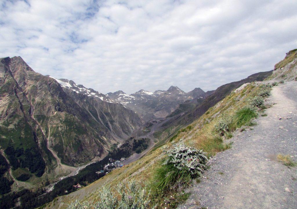 Панорама верховий ущелья
