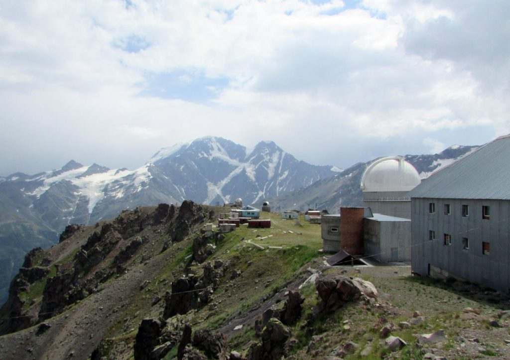 """Вот и обсерватория """"Пик Терскол""""!"""