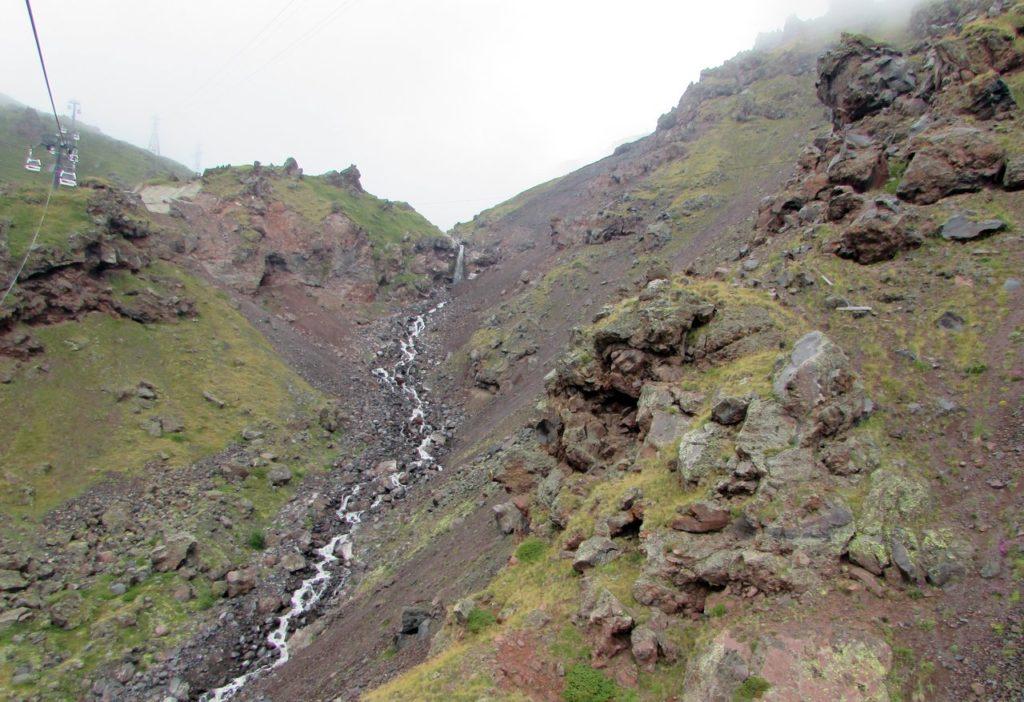 Речка Гара-Баши, стекающая с одноименного ледника