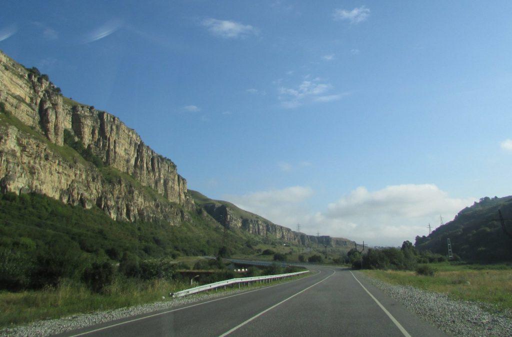 Постепенно горы становятся все ниже