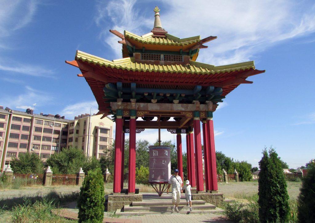 Пагода с большим барабаном