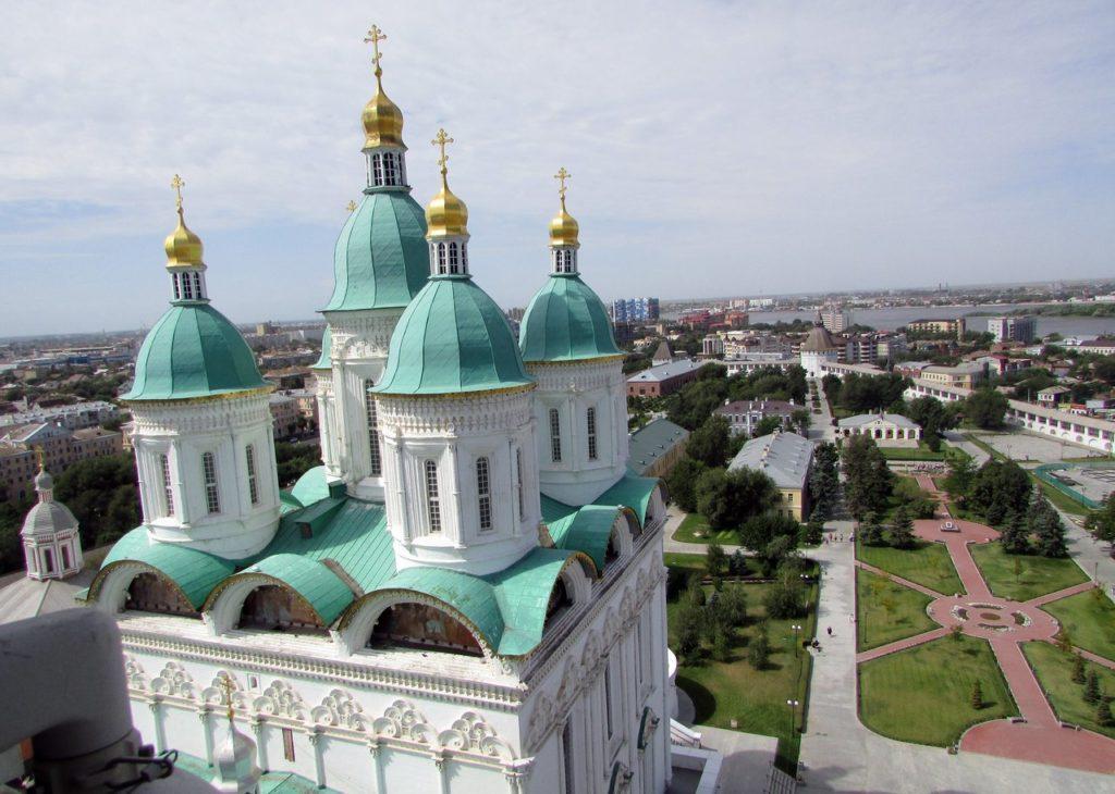Купола Успенского собора
