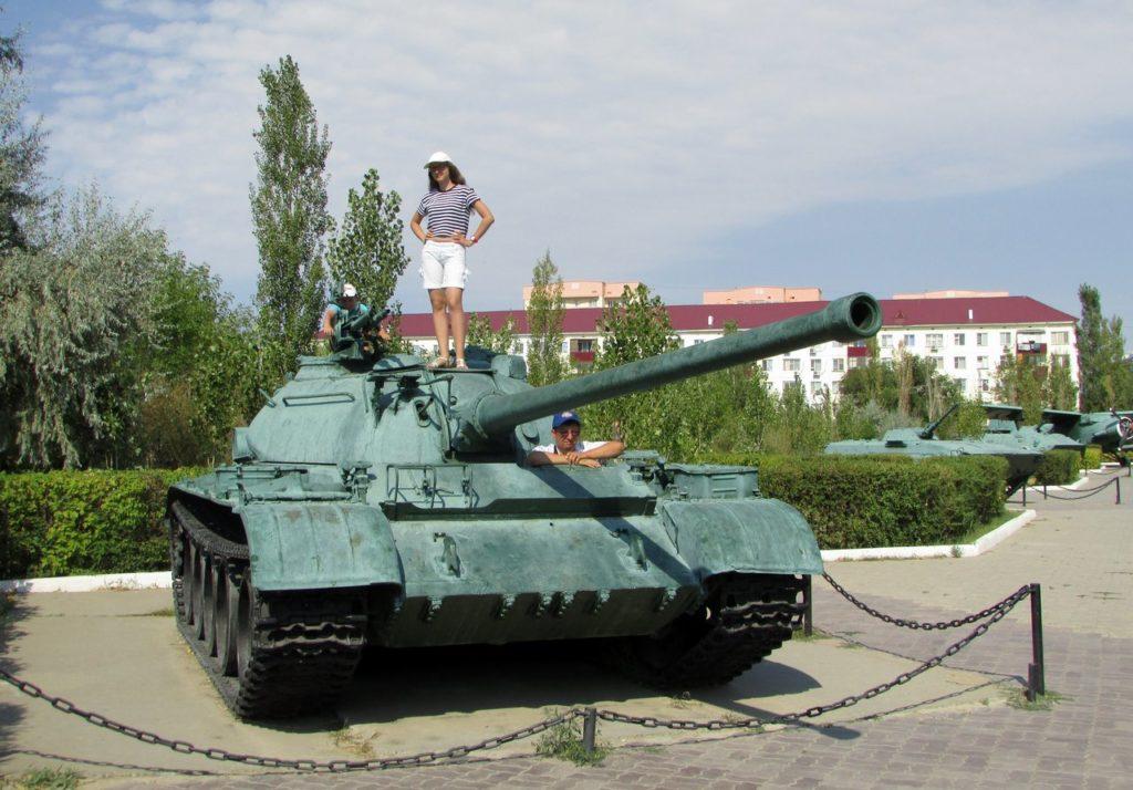 Т-55 в Парке Победы