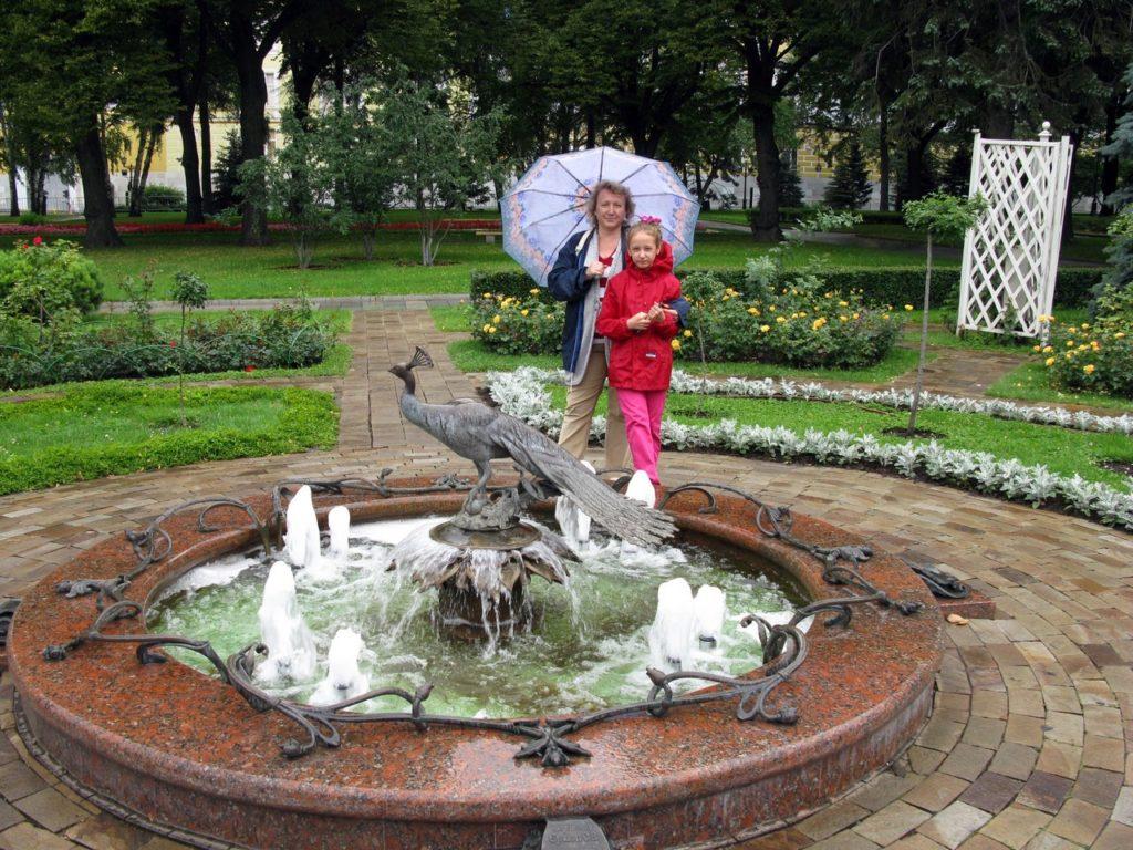 В Большом Кремлевском сквере
