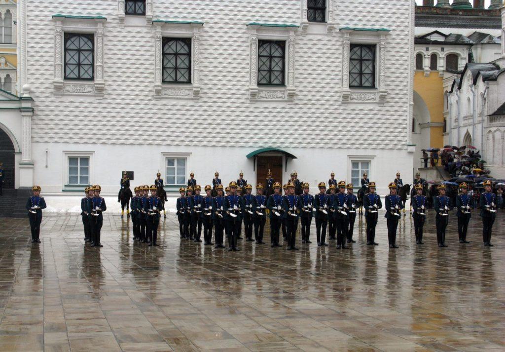 Развод кремлевского полка