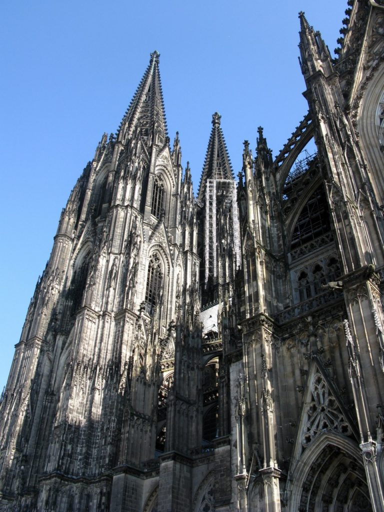 Башни Кёльнского собора
