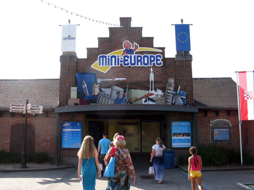 Вход в парк Мини-Европа
