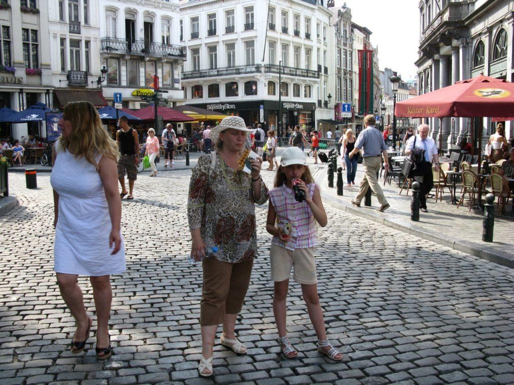Бельгийские вафли в Брюсселе вкуснее