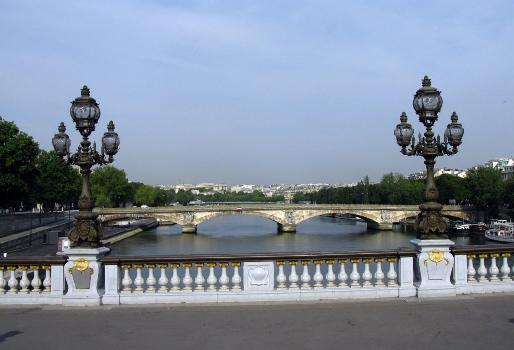 Мосты через Сену