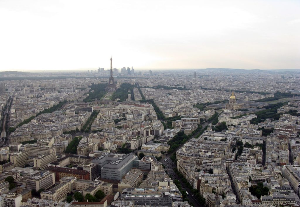 Парижские кварталы
