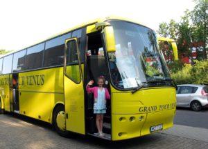 На автобусе в Диснейленд