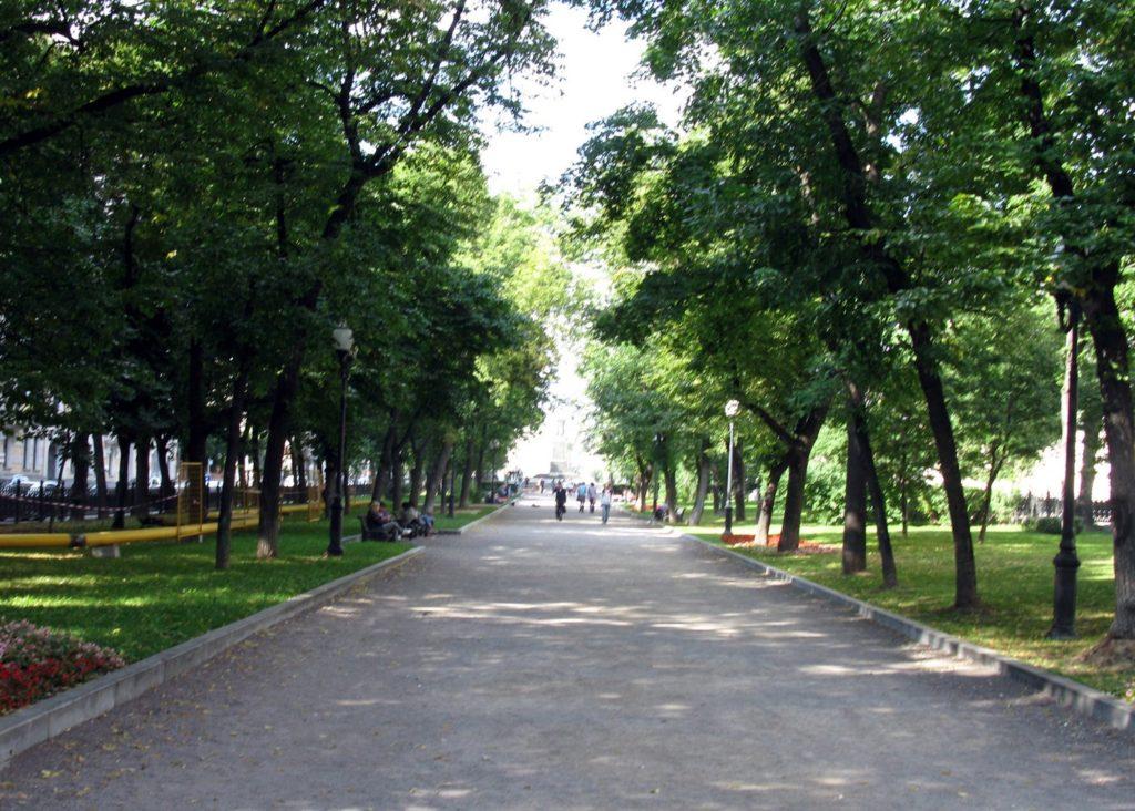 Бульварное кольцо - отличное место для прогулок