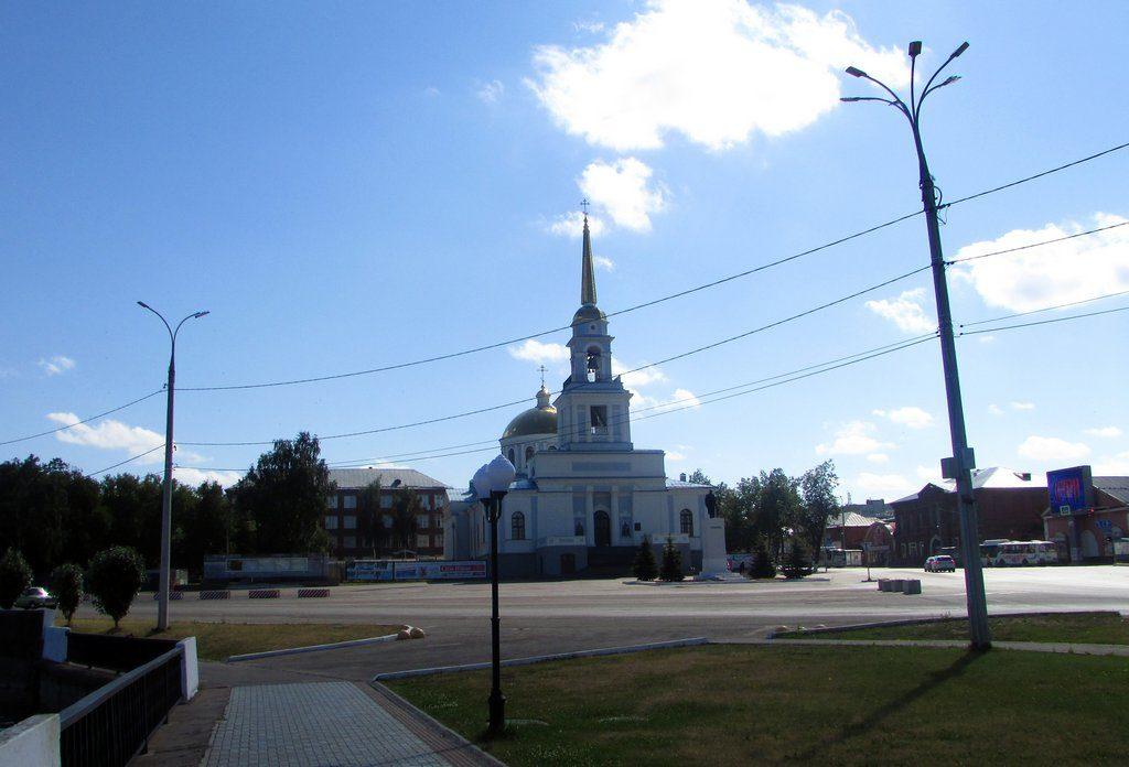 Центральная площадь Воткинска