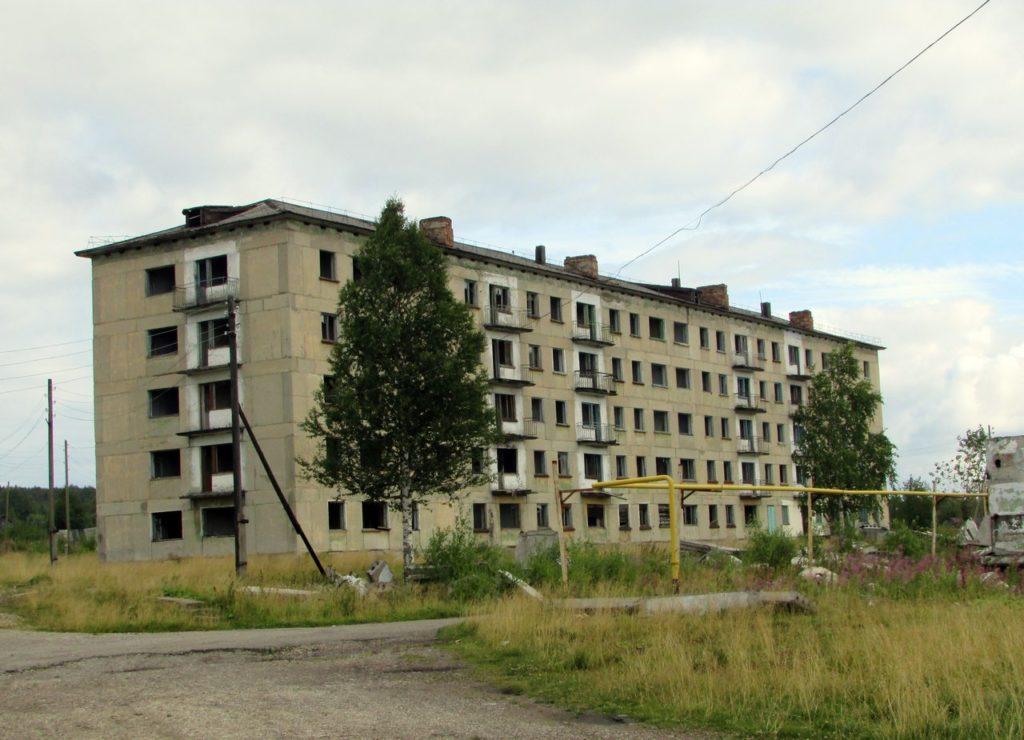 Пустая пятиэтажка