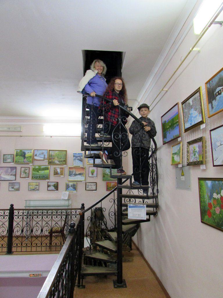 Лестница на верх