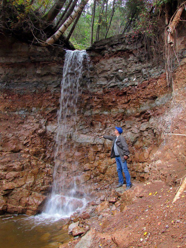 Водопад в начале Копани