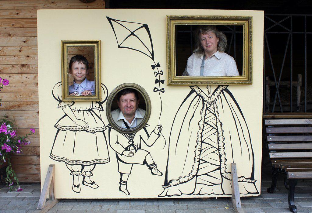 """Семейный портрет в стиле """"ретро"""""""