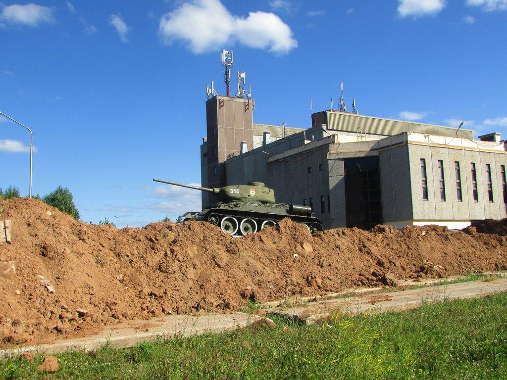 Т-34-85 снова в бою